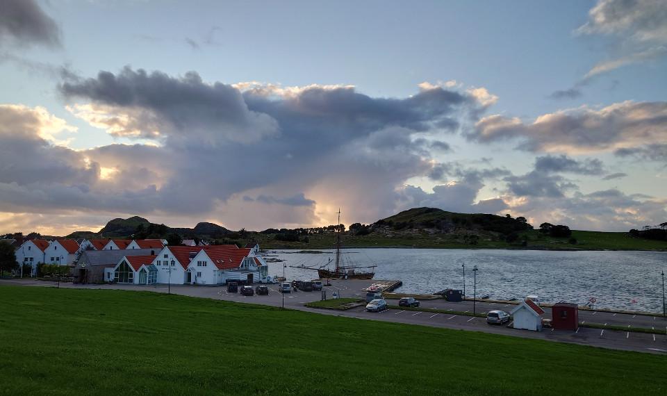 Hjemmehavn Home port sloop Restauration Stavanger Norway
